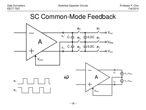switched capacitor circuit analysis switched capacitor common mode feedback 28 images the designer s guide community forum input