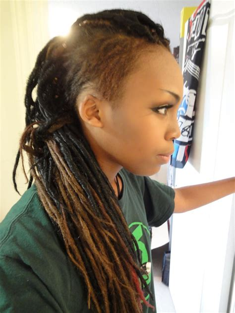 hairstyles after cutting dreadlocks dreads with undercut hair pinterest undercut