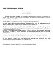 Modã Le Lettre De Dã Mission ã Tudiant Lettre De Motivation 233 Tudiant Noel Application Cover Letter