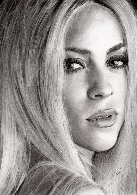 shakira drawing shakira by sadness40 on deviantart