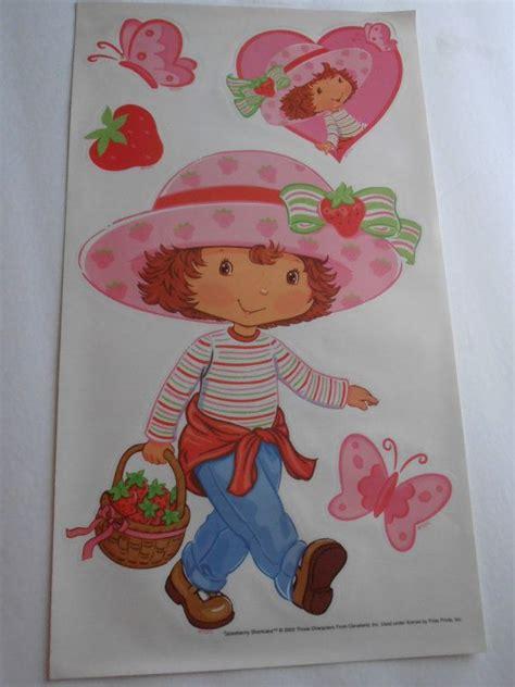 strawberry shortcake wall stickers strawberry shortcake wall stickers removable reusable