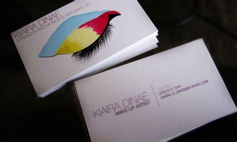 make up cards cardview net business card visit card design