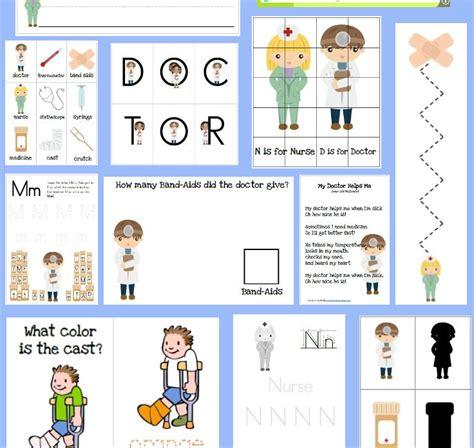 printable nursing games educational freebie doctor and nurses preschool pack