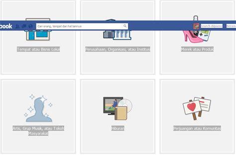 membuat web satu halaman cara membuat halaman facebook bangiz
