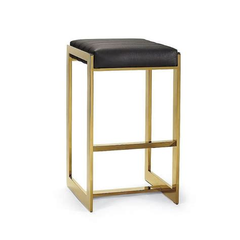 Gold Leather Bar Stools by Black And Gold Bar Stools Home Ideas
