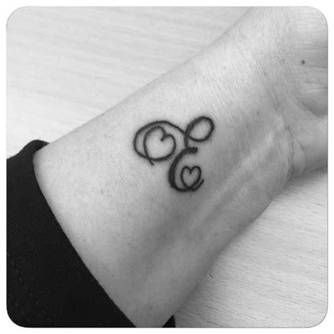 tattoo of alphabet a with heart e letter tattoo heart tattoo mother s tattoo