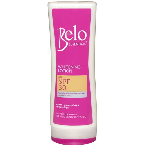 Spf Lotion belo essentials whitening lotion with spf 30 100ml