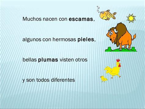 poema de los animales de 4 estrofas que rimen animales animalitos animalotes poema animales animalitos