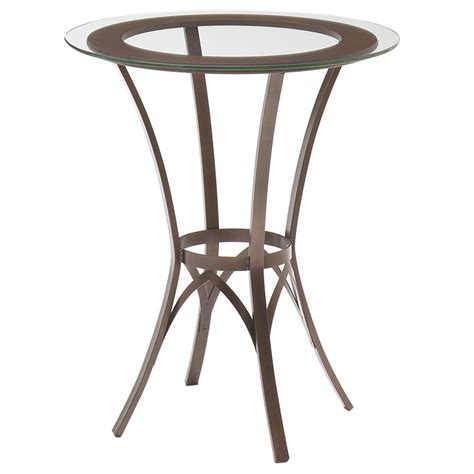 Glass Bar Table Glass Bar Table By Amisco Collectic Home