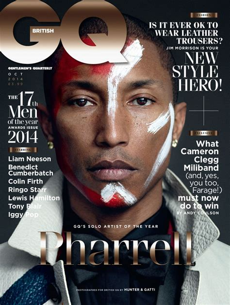 Best Magazine Covers For October by Pharrell Covers Gq Magazine October 2014 Into The