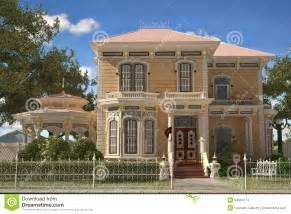 Carriage House Floor Plans Luxury Victorian Style House Exterior Stock Photos
