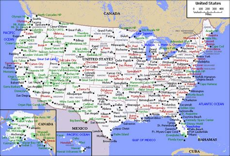 scale map of the united states map of usa with states and capitals printable usa united