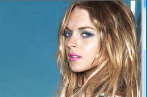 Lindsay Lands Another Fashion Caign by Lindsay Lohan S Sam Ronson Rant