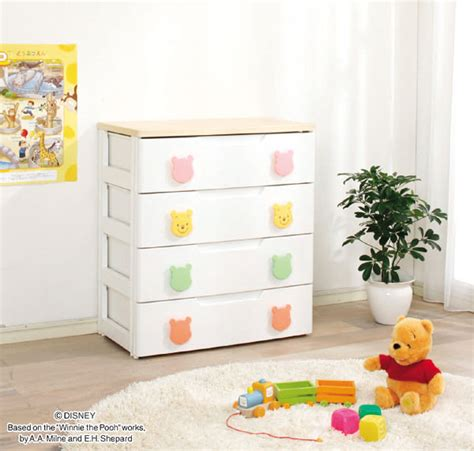 Winnie The Pooh Drawers by Hobbytoy Rakuten Global Market 4 Stages Type Width 73