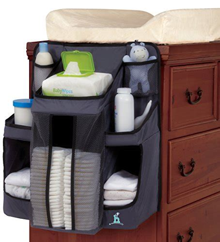changing table hanging caddy hiccapop nursery organizer and baby caddy hanging
