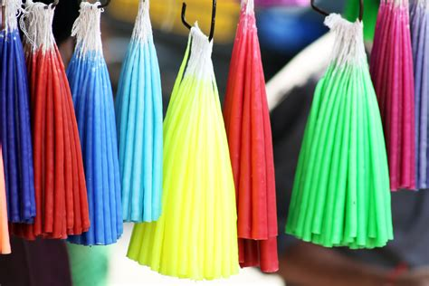 colorful candles colorful candles shop market domain pictures