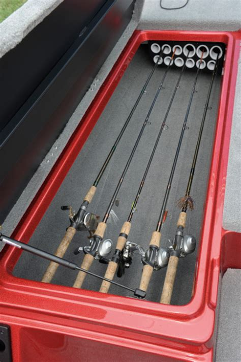 bass boat rod storage holders bass boat rod locker organizer pictures to pin on