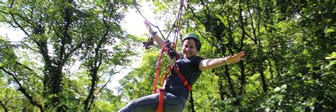 tarzan swing arenal canopy adventure the best zip line arenal costa rica