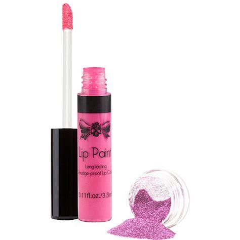 tattoo junkee lip paint sugar tattoo junkee tickled pink lip paint glitter set 2 pc