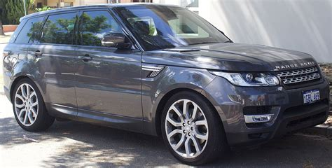 Land Rover Range Rover Sport википедия
