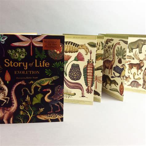 story of life evolution di katie scott big picture press 2015 creative books story of life evolution by katie scott child friendly news