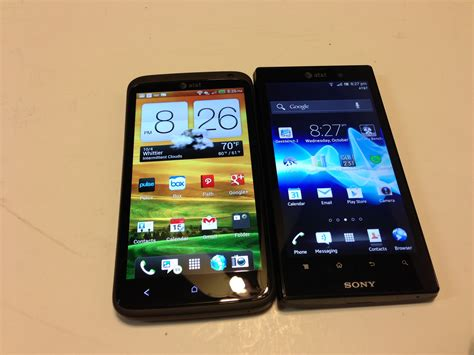 update prl iphone 5 att htc one x vs sony xperia ion android update 4 04