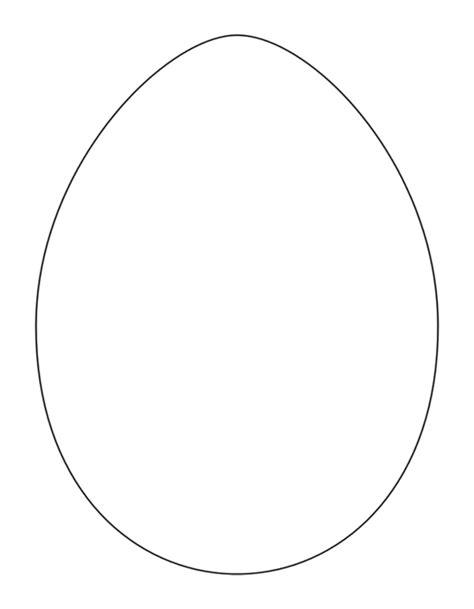 egg shape template egg shape template coloring home