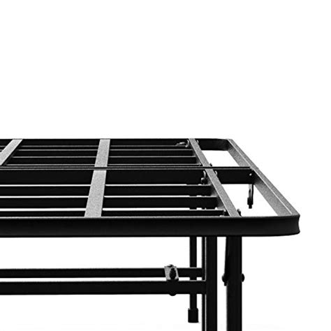 quiet bed frame zinus 14 inch elite smartbase mattress foundation for big tall extra strong