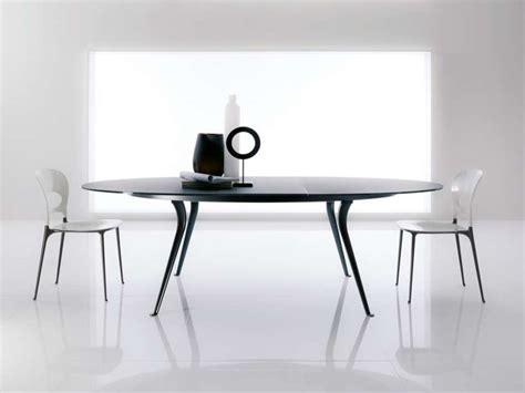 tavolo ovale cristallo tavoli ovali 2017 i modelli pi 249 belli design mag