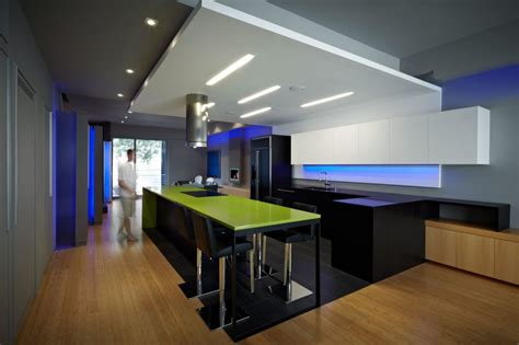 kitchen design company profile modern kitchen draws inspiration from nightclub