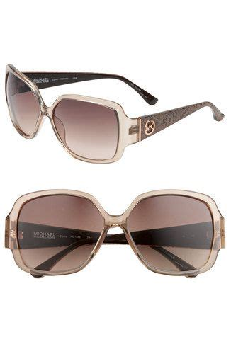 Michel Kors 4280 michael by michael kors zuma sunglasses in brown with