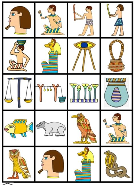 printable children s lotto games egyptian lotto game fran s freebies