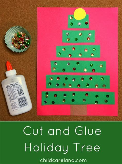 art project for italian christmas tradition cut and glue tree great for motor and