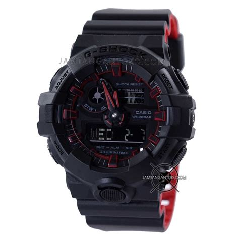 Murah Diskon Casio G Shock Ga 110a Black Grey Gold harga sarap jam tangan g shock ga 700se 1a4 neon black