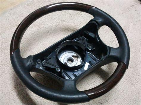 volante mercedes volant cuir bois w210 w208 ml etc luigibenz