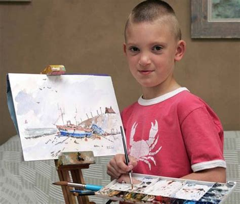 painting for seven year olds 7yo artist hailed as a genius david icke s official forums