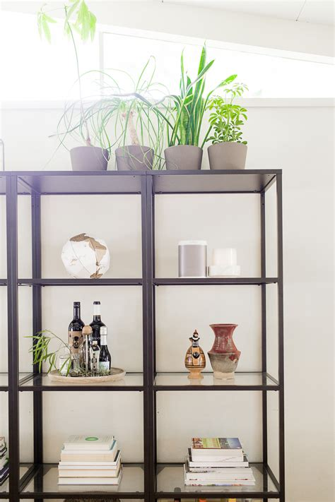 5 steps to perfectly styled shelves with west elm easy steps to style a shelf hej doll simple modern