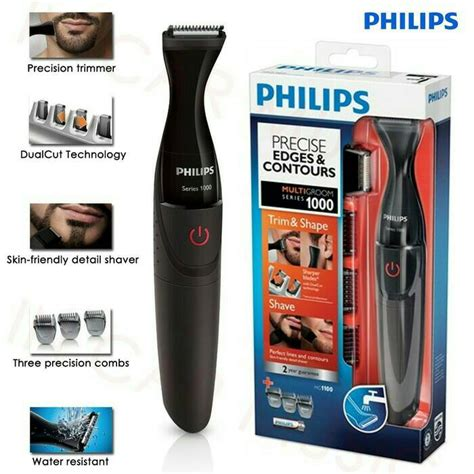 Alat Cukur Philips Aquatouch jual philips multigroom mg1100 alat cukur janggut kumis
