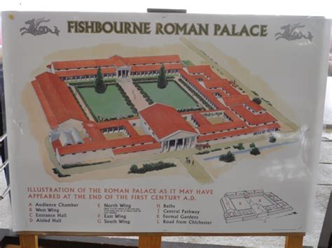 fishbourne roman palace floor plan fishbourne palace bignor villa wendy s journal