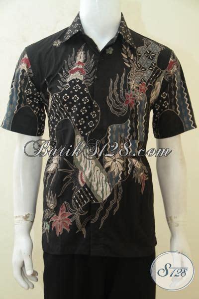 Kemeja Batik Pria Batik Tulis Lengan Pendek Warna Soft Baru Code B L kemeja batik tulis warna hitam pakaian batik lengan