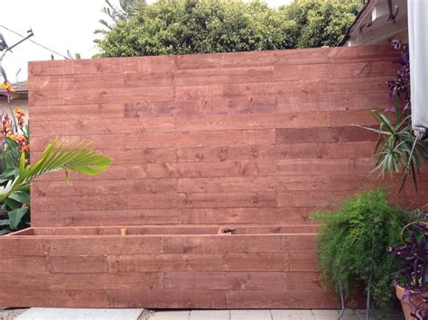 Privacy Fence Planter Box by New Planter Box And Privacy Fence Ideas For Our Yard