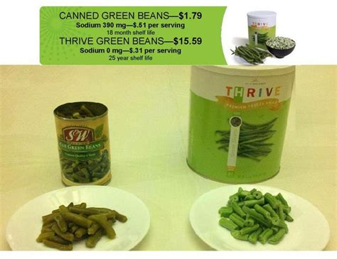 Shelf Of Green Beans by 17 Best Images About Why Thrive On Grocery Store Freeze Drying And Food Storage
