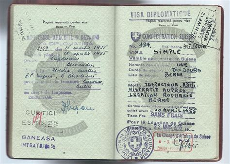 Diplomatic Post Office by 1950 Diplomatic Passport Collectors Weekly