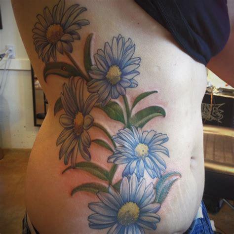 tattoo portland flowers by d optic nerve arts portland