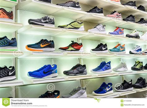 athletic shoe stores nike running shoes for sale in nike shoe store display