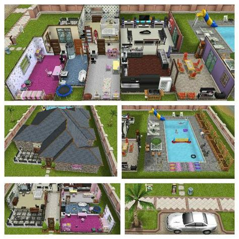 sims freeplay designer home house plans for sims freeplay home design and style