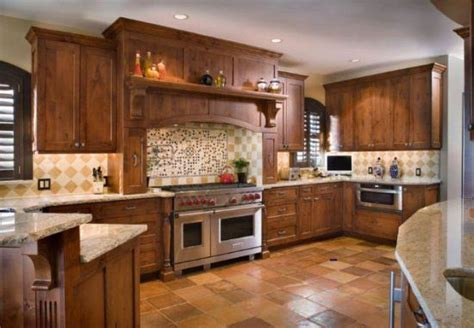 How To Stain Your Kitchen Cabinets Out Of Curiosity Painted Or Stained Kitchen Cabinets Hickory Cabinets And Kitchen Photos