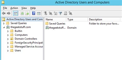 ad console how to install active directory on windows server 2012