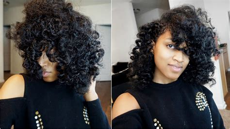 heatless hairstyles for natural hair overnight heatless curls hairstyle natural hair youtube
