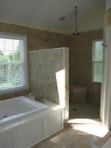Home interior design doorless showers shower designs